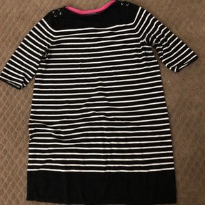 Ralph Lauren striped sweater dress plus size 3X